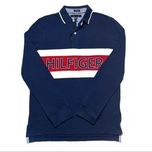 Tommy Hilfiger Prrint Vintage Long Sleeve Shirt